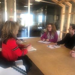 Imagem: Reunião trabalho Espaço Empresa