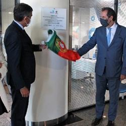 Imagem: Carlos Chaves Monteiro - Presidente da Câmara Municipal da Guarda e João Correia Neves - Secretário de Estado Adjunto e da Economia